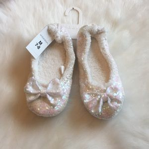 Shoes - Sequin slippers